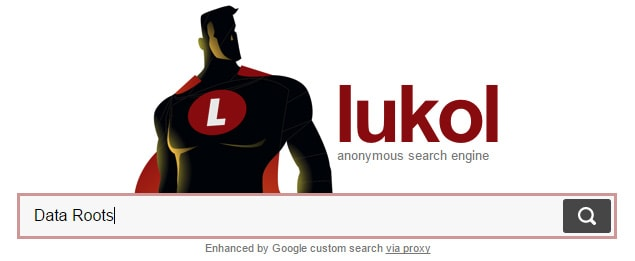 Lukol search engine