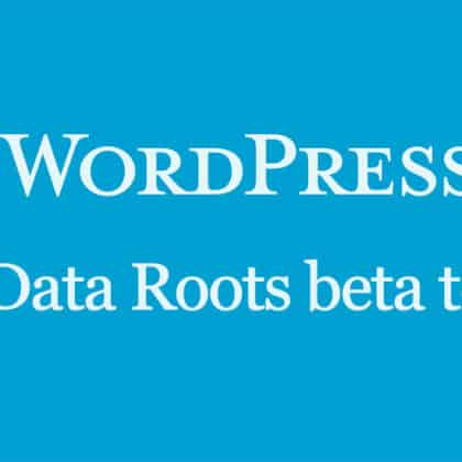WordPress 4.6 beta test